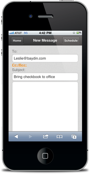 Mobile Web | Boomerang for Gmail