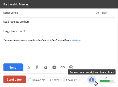 Read Receipts for Gmail | Boomerang for Gmail